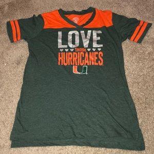 Miami Hurricanes T-shirt